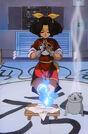 Mamono Hunter Yohko Azusa using her powers