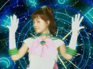 Pretty Guardian Sailor Moon Sailor Jupiter in her transformation
