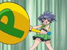 Powerpuff Girls Z Buttercup using her attack20