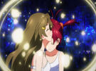 Vividred Operation Akane and Himawari about to fusion