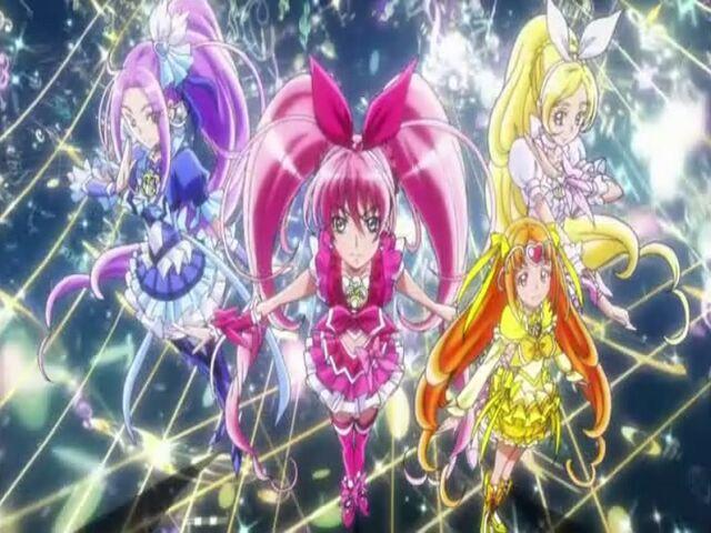 File:Suite Pretty Cure Suite Cures transformation pose.jpg