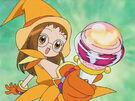 Ojamajo Doremi Hazuki using her spell 2