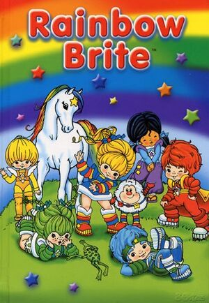 Rainbow brite-note book
