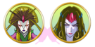 Yes! Pretty Cure 5 Desperaia faces