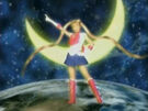 Pretty Guardian Sailor Moon transformation pose