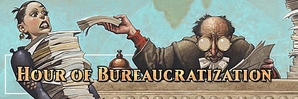 HOC heading bureaucartization