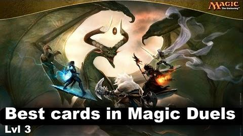 Lvl 3 Best cards in Magic Duels