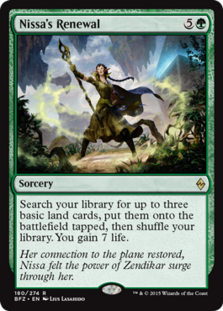 Nissa's renewal preview