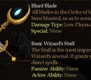 Basic Wizard's Staff