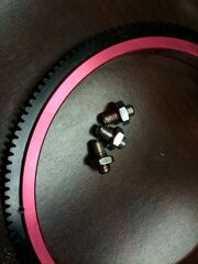 Focus ring gear screws
