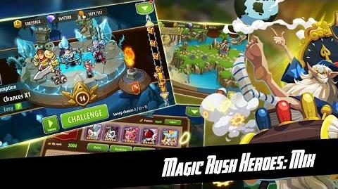 Magic Rush Heroes Ancient Ruins Stage 4-1 to 4-3