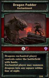 Dragon-fodder