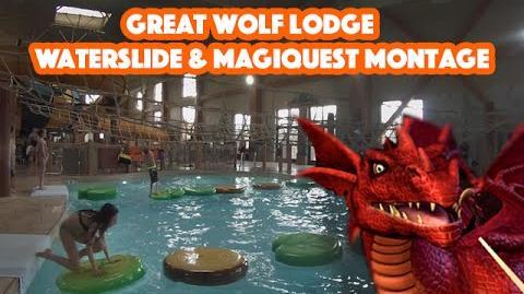 Great Wolf Lodge Weekend 2016 - Poconos, PA - Waterslide & MagiQuest Montage - GoPro Hero Footage