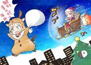 Christmas Nori Senbei