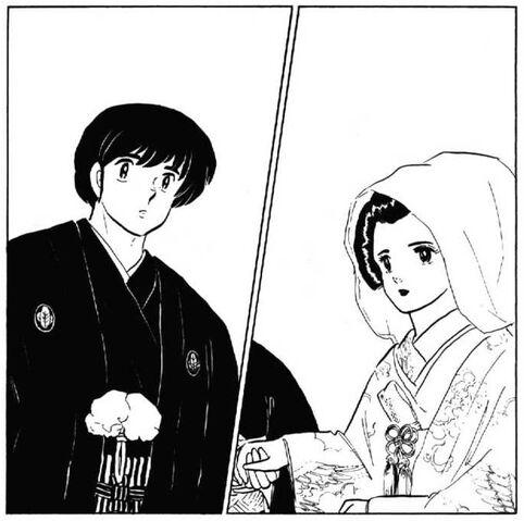 File:Yusaku meets Kyoko in wedding dress - Chapter 161.jpg