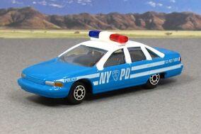 Maisto chevy caprice police NYPD