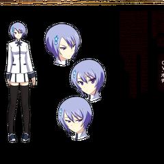 Miyako in Anime design.