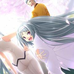 Monshiro, Ageha and Hideo- Amongst the Cherry Blossoms (Majikoi A-2)