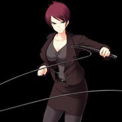 Umeko cracking her whip