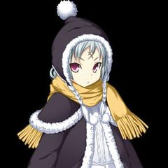 Monshiro in her winter outfit