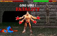 MK9 vs ILAR - Goro Fatality