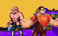 Abobo and wreck-it ralph