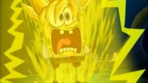 Spongebob Goes Super Saiyan
