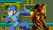 Toon megaman and bomberman zero