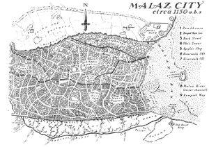 Map Malaz City