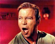 Shatner screams