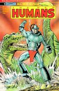 New Humans Annual - The Shattered Earth Chronicles Vol 1 1