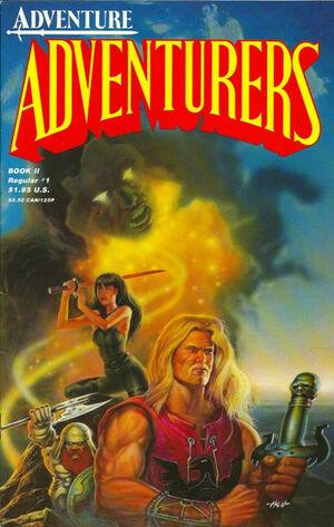 Adventurers Book II Vol 1 1