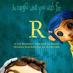 <i>R is for Ragdolls</i>.