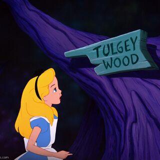 Tugley Wood sign.