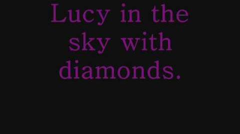 Lucy In The Sky With Diamonds - The Beatles (lyrics)