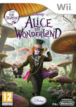 Alice in Wonderland (video game) Wii box art