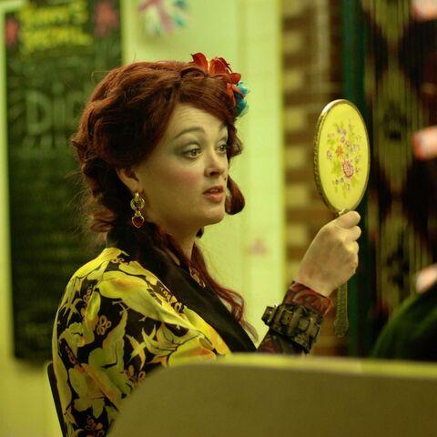 Bronagh Gallagher as <i>Hattie</i>.