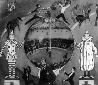 695px-The Amateur Circus at Nutley by Peter Newall 1894