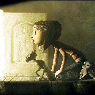 Coraline and The Cat.