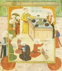1582-İstanbul-Şehzade Mehmet'in sünnet düğünü-Surnamei Humayun-Esnaf Alayı
