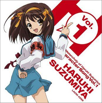 Haruhi Suzumiya character album cover