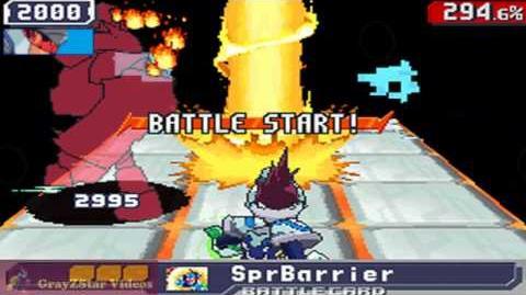 Megaman Starforce 3 (X) - Taurus Fire Omega