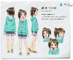 Tsugumi's character design