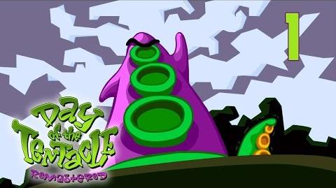Day of the Tentacle Remastered 1 - Beginning Walkthrough PC HD No Commentary