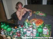 Pizza-mountain dew-xbox-paradise
