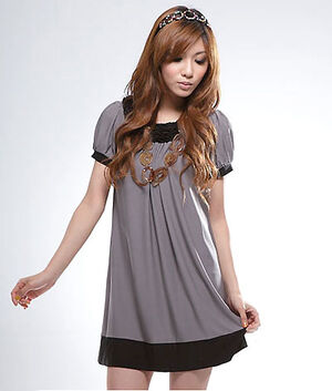 Women casual apparel models