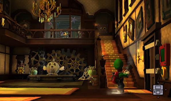 Luigi S Mansion Foyer : Category gloomy manor rooms luigi s mansion fandom