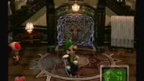 Luigi's Mansion Game Boy Horror in Mirror