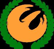 Democratic Alba emblem (New World Map Game)