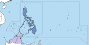 Map of Philippines (Set Free Map Game)